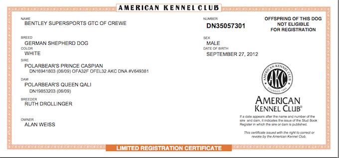 Bentley Is Registered - Alan Weiss, PhD