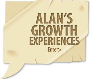 Enter Alan's Growth Experiences